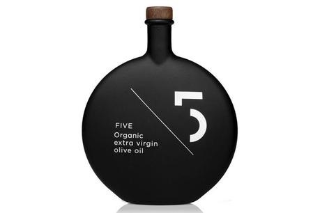 Five Organic Gourmet Olive Oil