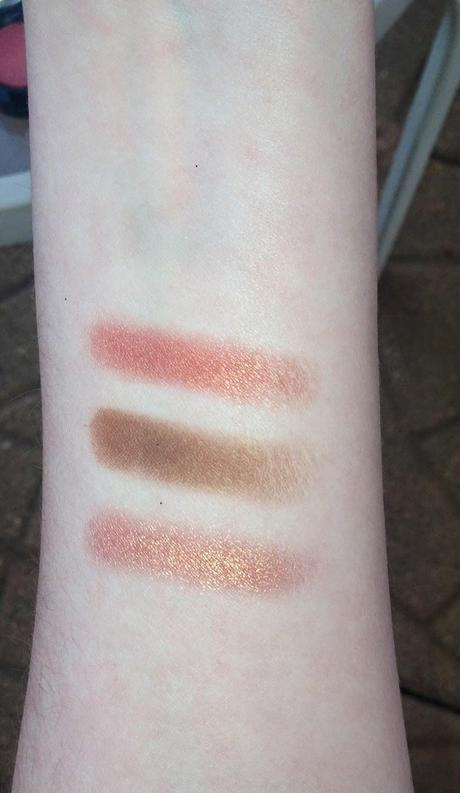 MAC Coppering, Expensive Pink, and Sable