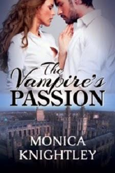 The Vampire's Passion by Monica Knightly: Spotlight with Excerpt