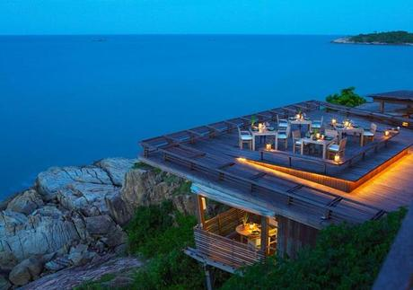 Dining on the Rocks – Samui, Thailand