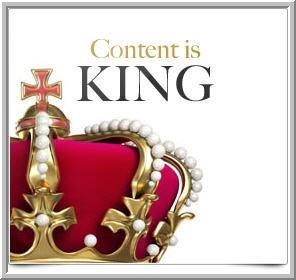 Content is King for Ever