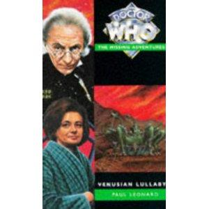 Friday Reads: Venusian Lullaby by Paul Leonard (Doctor Who)