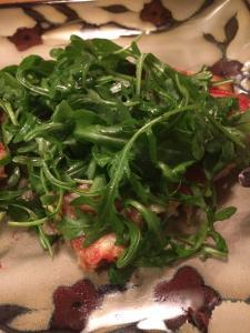 pizza arugula