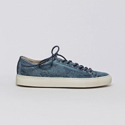 The Quite Possibly Simple Made Extraordinary:  Buttero Linen Sneaker