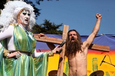 Hunky Jesus contest