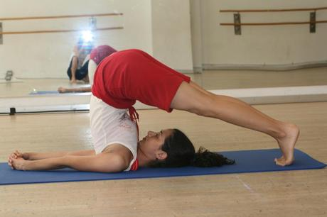 Halasana-Plough pose in Yoga