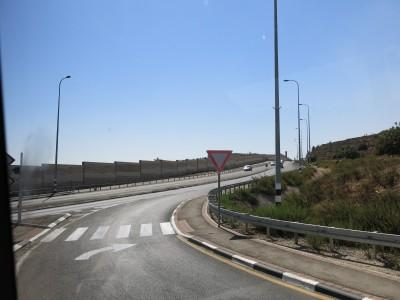 The separation walls are all over the West Bank