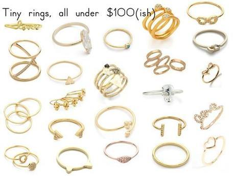Posessionista stacking rings