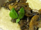 Mushroom Smothered Grits