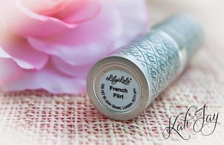 Lily Lolo Natural Lipstick: French Flirt!