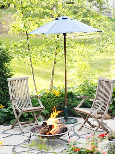 patio firepit ideas