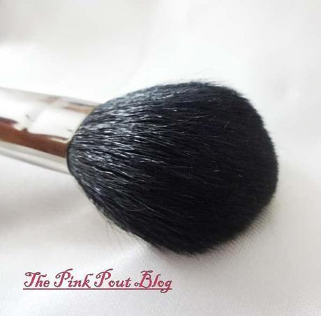 MAC 129 blush-bronzer brush