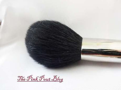 MAC 219 blush/bronzer brush