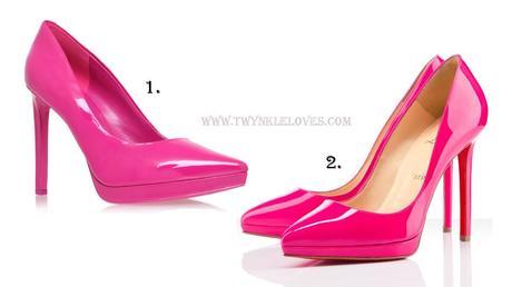 Bright Pink Heels