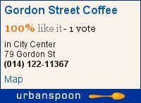 Gordon Street Coffee, 79 Gordon Street, Glasgow, G1 3SQ