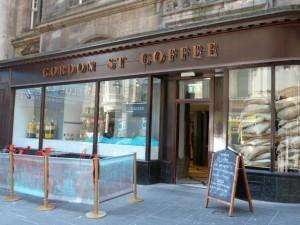 Outside © Gordon Street Coffee