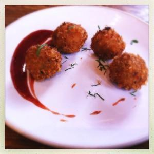 Quinoa croquetas Andina Peru Peruvian london shoreditch Redchurch food drink Glasgow blog east end