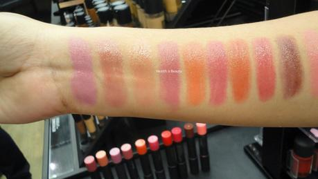 Swatch Santa - MAC PatentPolish Lip Crayons (Launching this June)