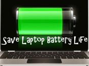 Save Laptop Battery Life Tips