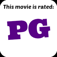 This movie is rated pg