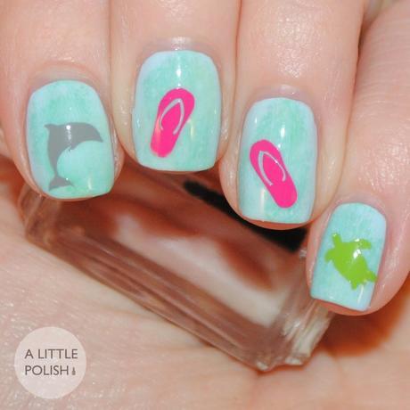Flip Flop Nail Art Designs - Nails - Nail Polish, Nail Colour ...