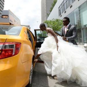 wedding boathouse central park taxi