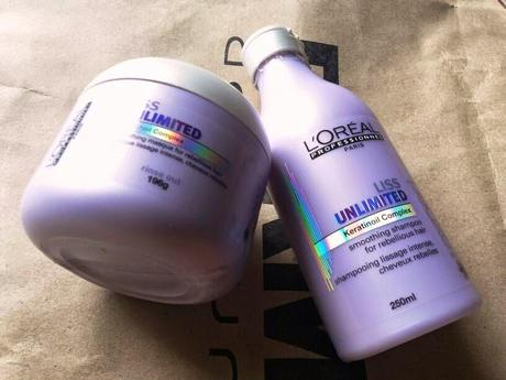 L'Oreal Professionel Liss Unlimited Smoothing Shampoo and Masque - Review