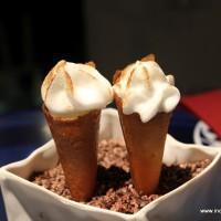 Cinnamon and Chocolate Cornetto