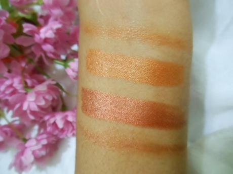 NYX Jumbo Eye Pencils (Gold, Bronze) : Review, Swatches