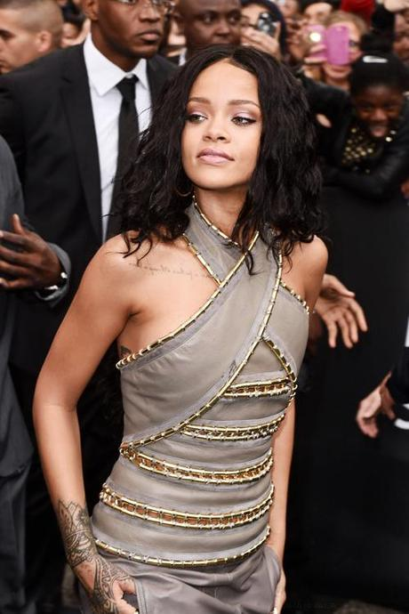 Rihanna Goes Rogue In Paris