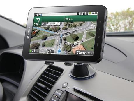 Using the Samsung Galaxy tab 3 as dedicated car GPS