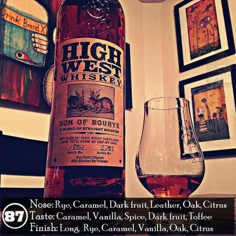 High West Son Of Bourye Review