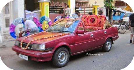 did you enjoy the occasion of 'mappillai azhaippu' in Jhanvasa car ?!?!
