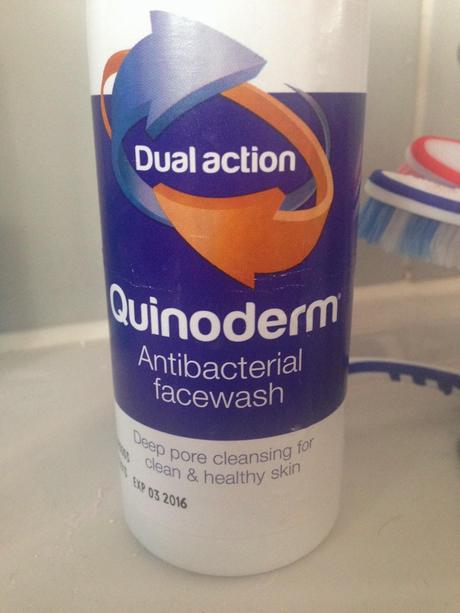 Review: Quinoderm Antibacterial Facewash