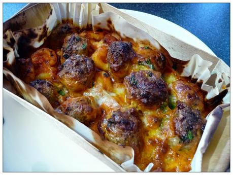 ... ! Charlie Bigham's Macaroni Cheese and Meatballs Al Forno - Paperblog