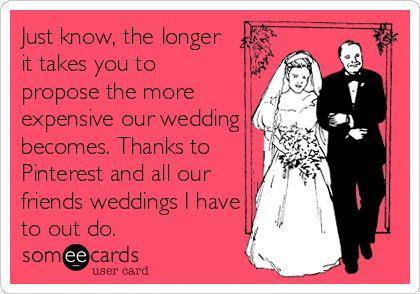 Funny engagement ring e card