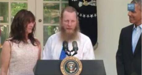 Obama smiles as Bergdahl asks for Allah's blessing