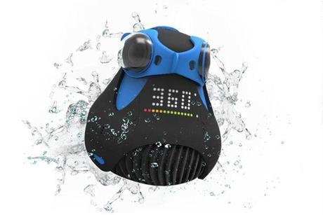 Waterproof 360-degree HD camera oculus-rift
