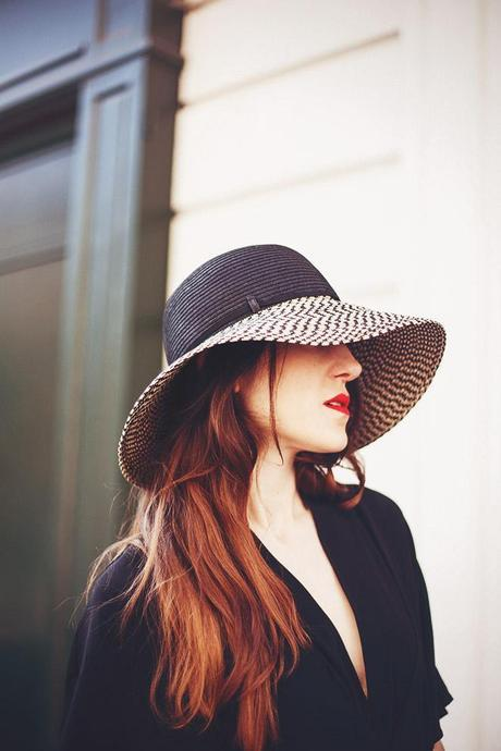 sun hat look