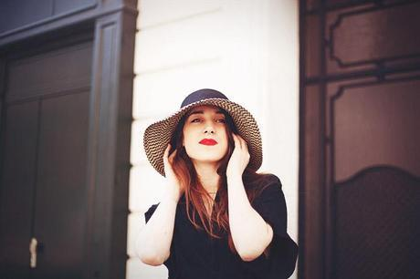 french connection floppy hat