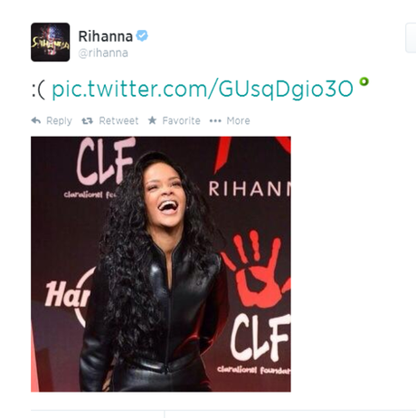 Rihanna Claps Back To TLC