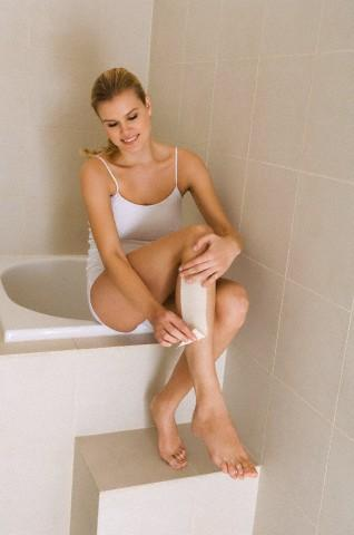 waxing legs face unwanted hair