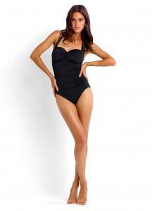 Black One Piece Swimsuit by Seafolly