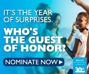 Image: Nominate someone for a surprise party from Marriott Rewards