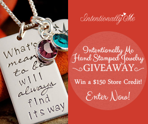 Image: Intentionally Me Hand Stamped Jewelry Giveaway