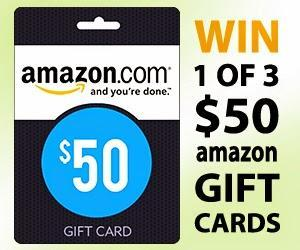 Image: win $50 Amazon Gift Card from FamilySavings.com