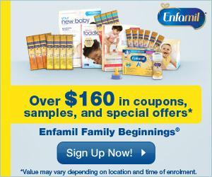 Image: Sign up for Enfamil Family Beginnings® - $160 in free gifts