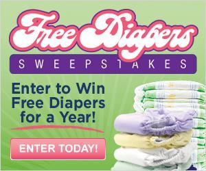 Image: Win FREE Diapers for a Year