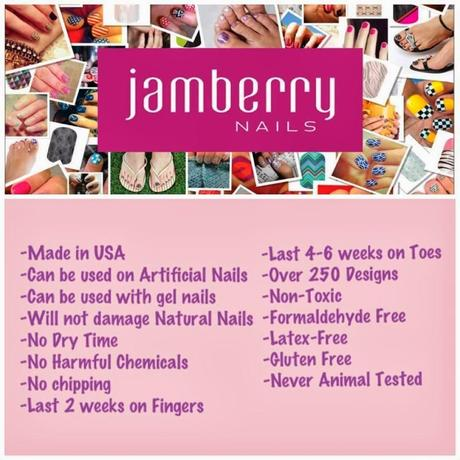 Jamberry Nails - get fabulous nails in 15 minutes, earn free nail