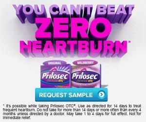 Image: Request a free sample of Prilosec OTC